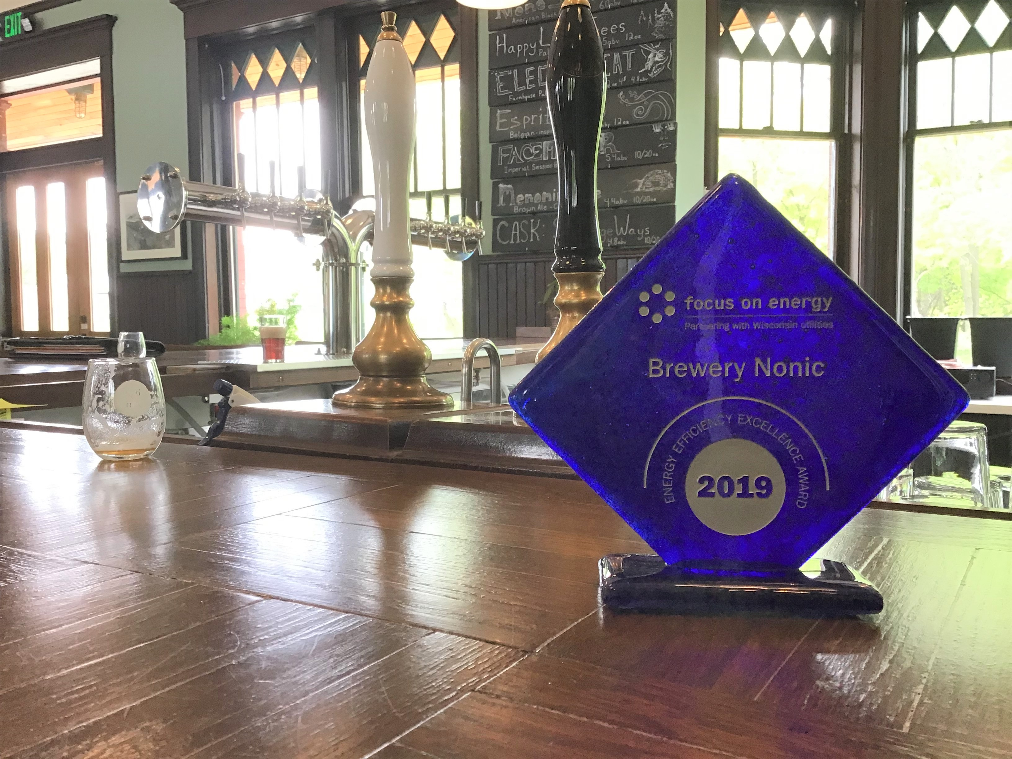 Brewery Nonic Award Picture